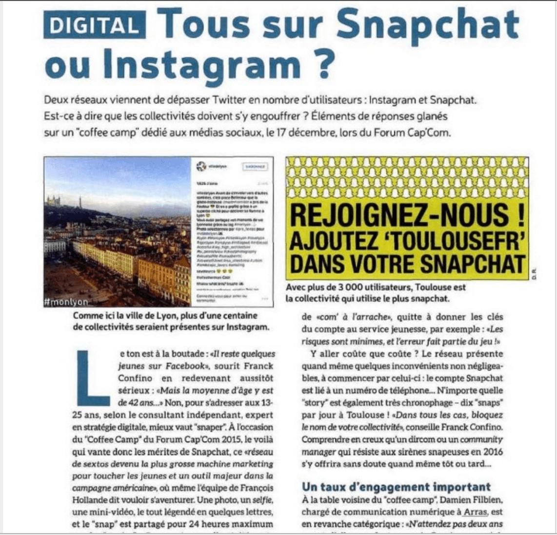 Capture Brief Snapchat
