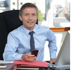 Gil Avérous, maire de Châteauroux et président de l'agglo